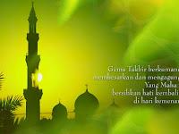 Ucapan Selamat Hari Raya Lebaran Idul Fitri 2019/2020