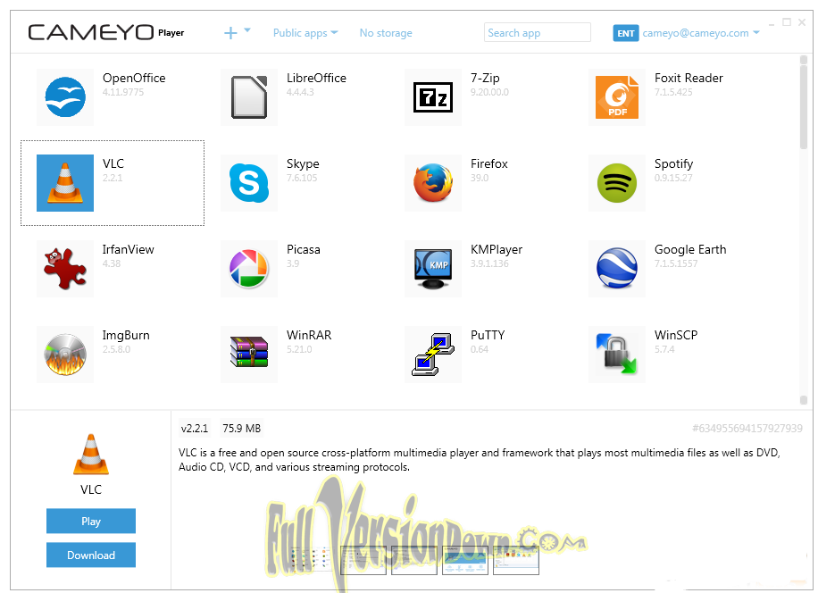 Download Cameyo 3.1.1446 Latest Version