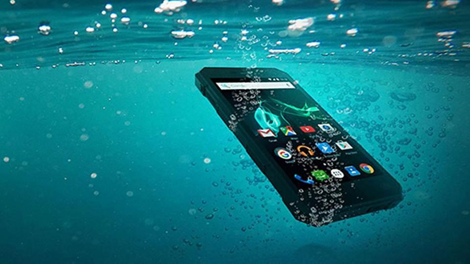 Archos 50 Saphier, Smartphone Anti air dan Tahan Banting Harga 3 jutaan