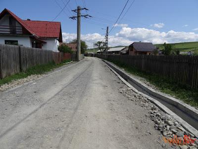 Lucrari drumuri Toplita