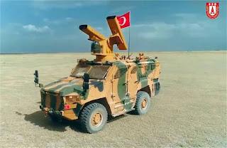 Sistem Rudal Pertahanan Udara Jarak Pendek Baru SUNGUR Turki