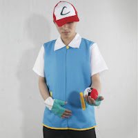 Disfraz de Ash Ketchum pokemon