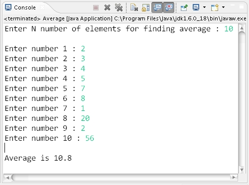 Calculating moving average in Excel