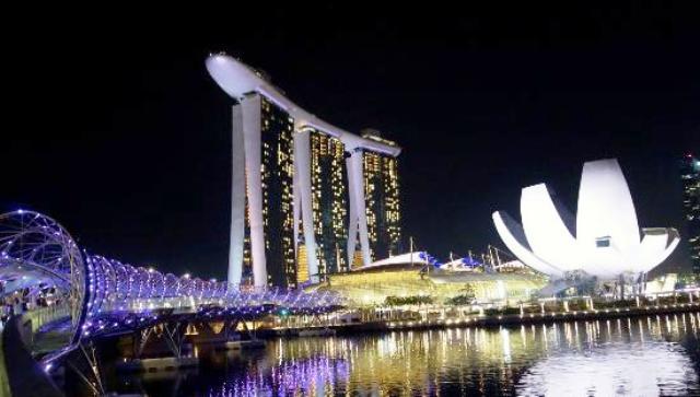 Tempat Wisata Terbaik di Singapura - Jembatan helix