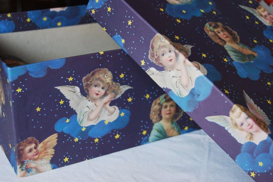 Risultati immagini per scatola angeli immagini