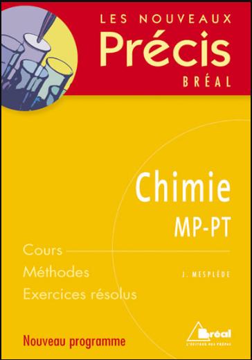 Livre : Nouveaux précis de Chimie MP-PT - Editions Bréal PDF