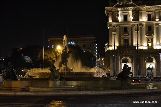 Fountain of Nymphs - Piazza della Repubblica/Fontana della Naiadi