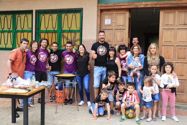 fiesta de fin de curso de la hostelería de San Vicente