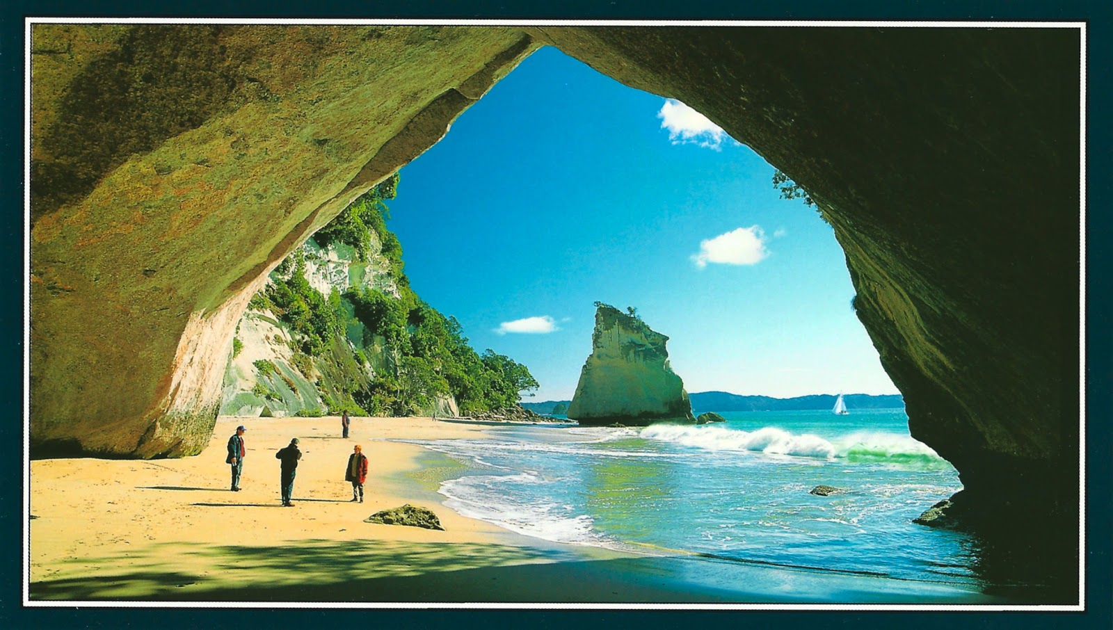 Towns Near Me My Favorite Views New Zealand Cathedral Cove