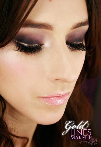 Alina Rose Blog Kosmetyczny Makijaż Studniówkowy Dla Brązowych