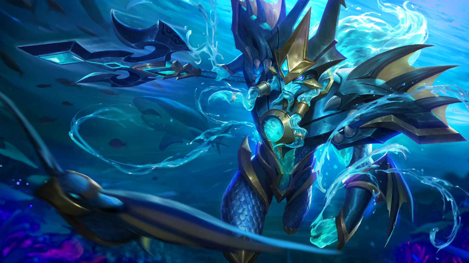 Skin Alpha S6 Sea Gladiator