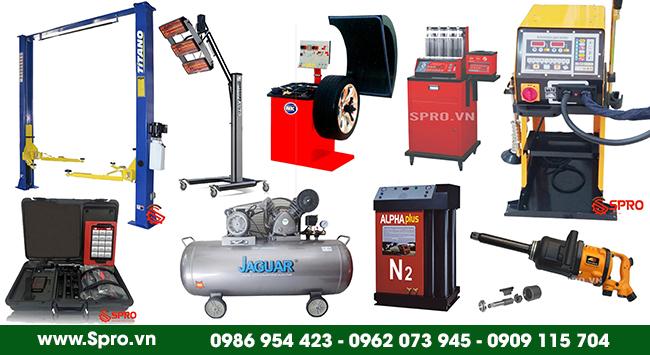 Thiết bị Garage được cung cấp bởi SPRO