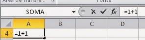 Como fazer adição no Excel - Apostila online para iniciantes