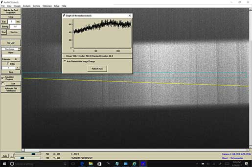 First light with Sheyak LISA Spectrograph at Palmia Observatory