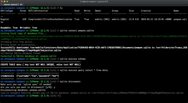 Objection v1.6.6 - Runtime Mobile Exploration