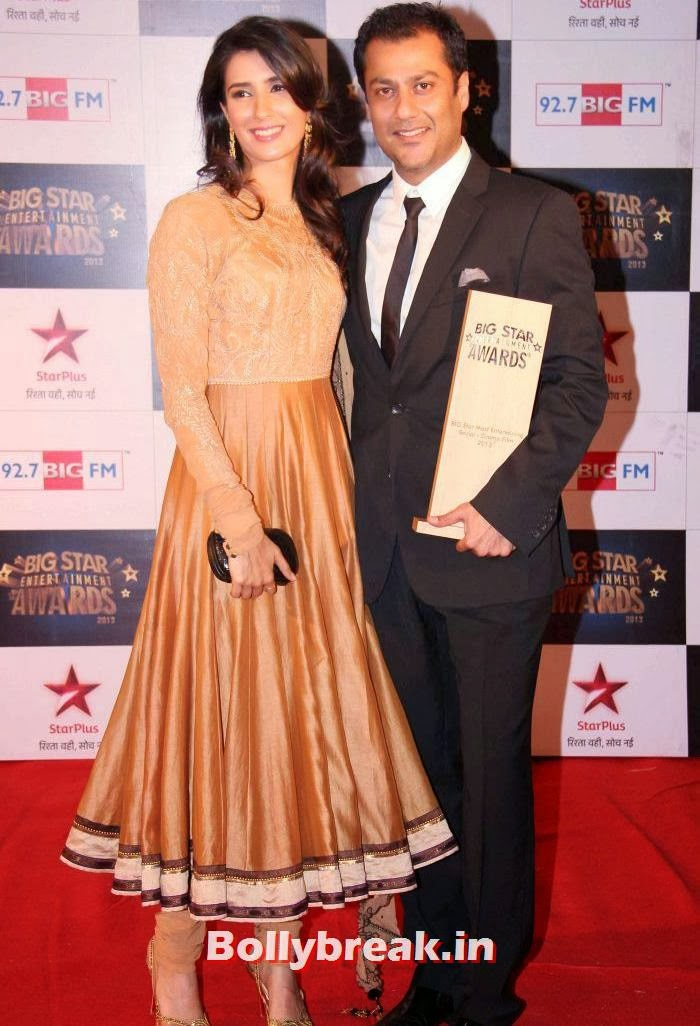 Pragya Yadav, Abhishek Kapoor, Tv babes Sizzle on Big Star Entertainment Awards 2013 Red Carpet