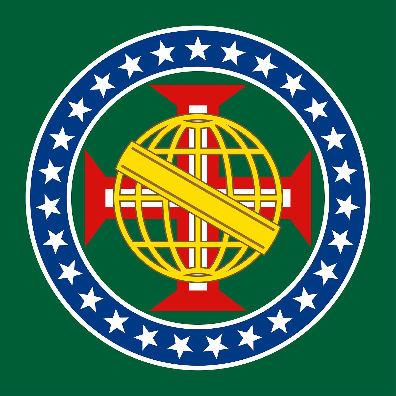 Núcleo Redesenhado da Bandeira Imperial Brasileira