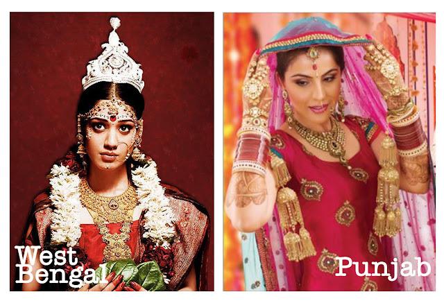 Bridal Series  North India wedding jewellery of Hindus
