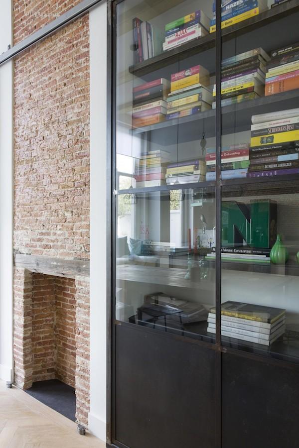 vosgesparis: An industrial dream home X a steel wall divider by ...