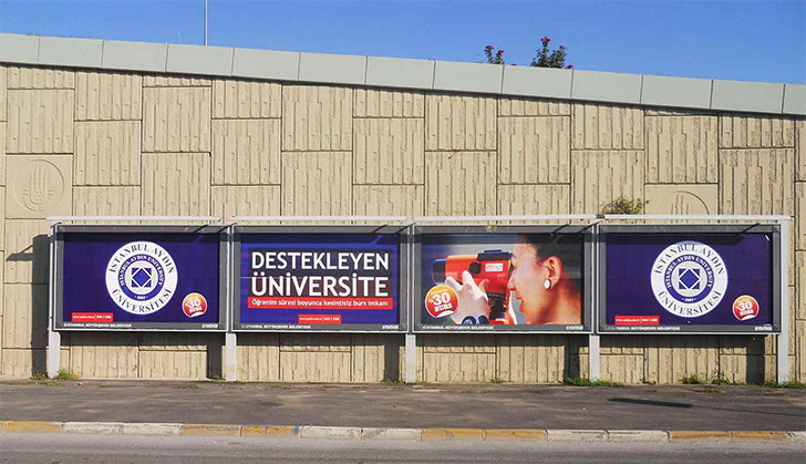 Alternatif Reklam Stratejisi Billboard Baskı