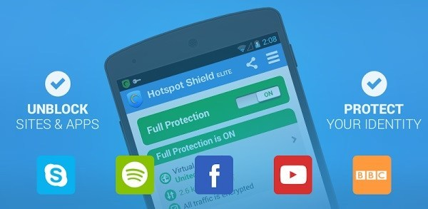 Hotspot Shield Elite 4.5.4 Modded Crack