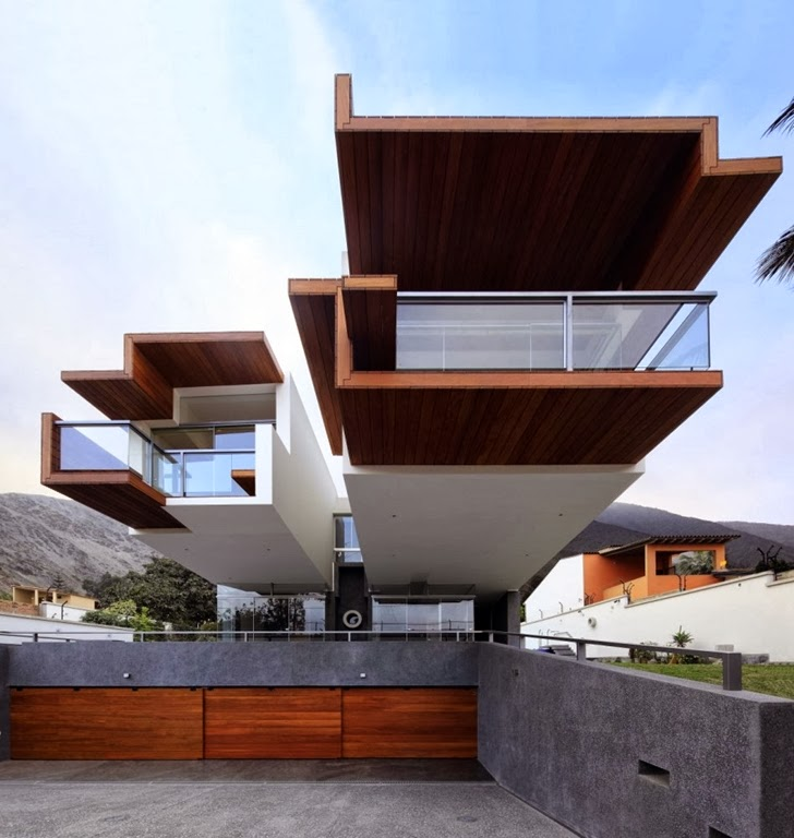 World Of Architecture Unusual Extreme Modern House By Longhi