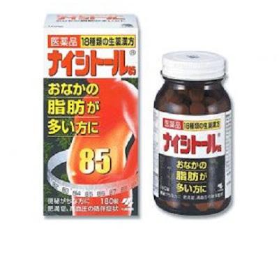 Viên giảm béo bụng 85 Nhật Bản