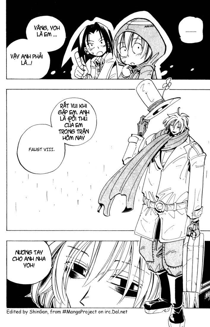 Shaman King [Vua pháp thuật] chap 40 trang 3