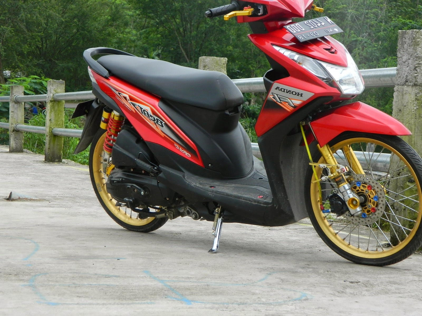 Gambar Modifikasi Motor Vario 110 Terbaru Earth Modification