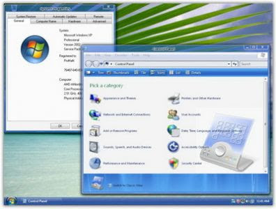 Windows XP Aero SP3 Full Version