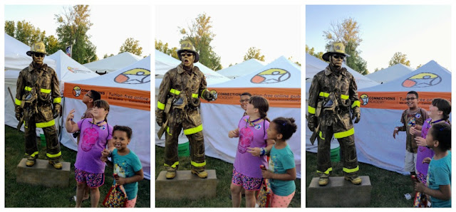 Fireman at the Avon Duck Tape Festival