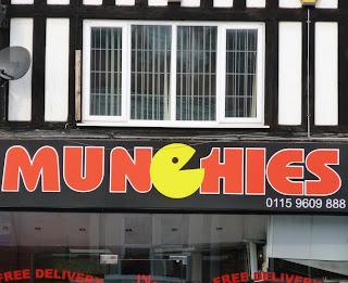 Munchies takeaway in Nottingham