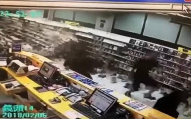 6,4 Ρίχτερ στην Ταϊβάν - 4 άνθρωποι έχασαν τη ζωή τους - 145 αγνοούνται (βίντεο)