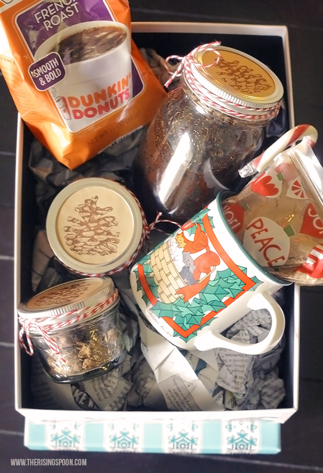 DIY Coffee Lover's Gift Basket