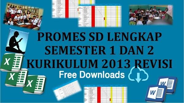 K13: Program Semester (PROMES) Kurikulum 2013 SD/MI Revisi