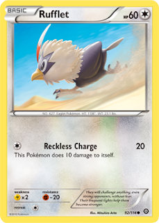 Rufflet Steam Siege Pokemon Card