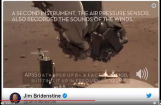 تارودانت24 بريس / اسمع لأول مرة في التاريخ صوت الرياح على سطح المريخ ( ملف صوت + فيديو)