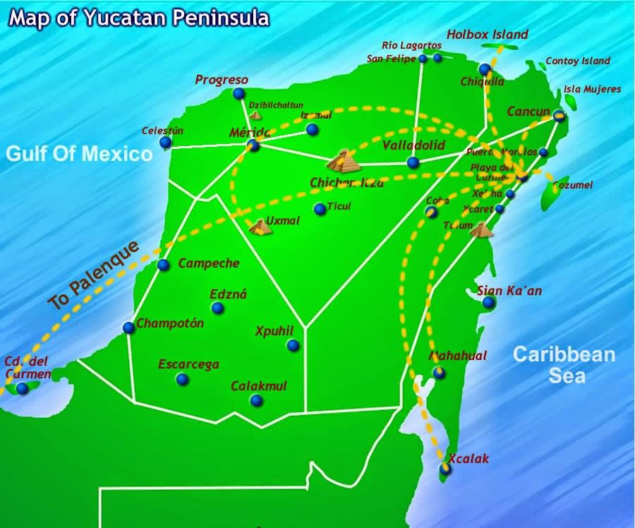 Cancun Quintana Roo Mexico Map.Cancun Quintana Roo Mexico Map