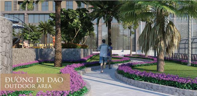 Đường dạo bộ tại Eco Dream
