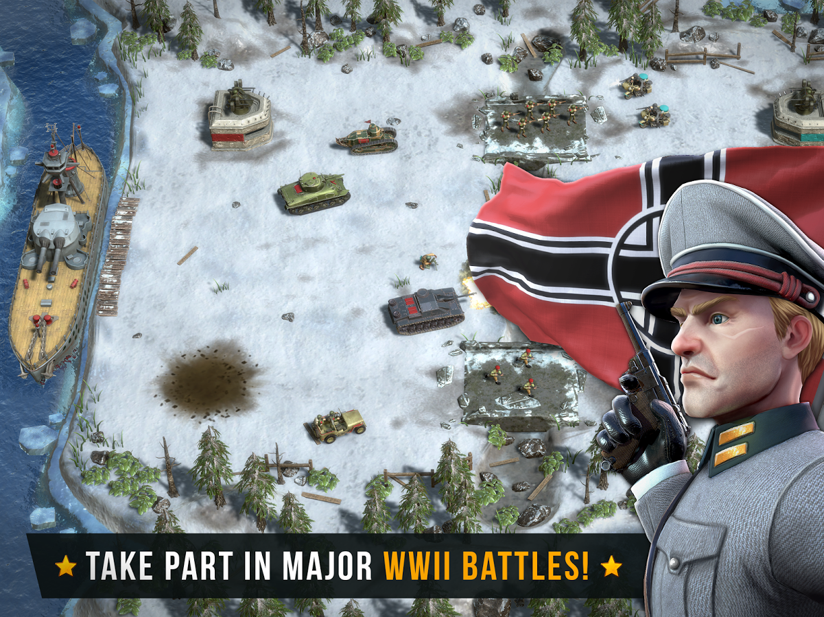 Battle Islands Commanders MOD APK