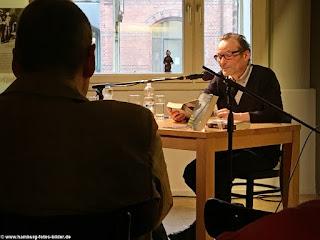 """Robert Brack liest aus seinem Roman """"Die Morde von St. Pauli"""" im Speicherstadtmuseum, Krimilesung in Hamburg"""