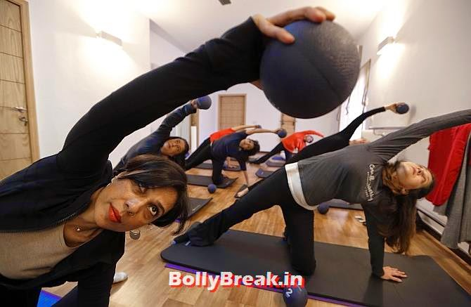 Pilates instructor Zainab Abbas leads a class at her fitness studio in Lahore., You will love these Pakistani Bold Women of 2014