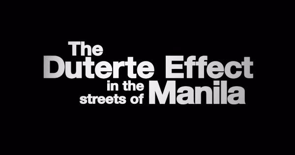 Jim Paredes Reacts To Mocha Uson S Blind Item On Facebook: WATCH: The Duterte Effect In The Streets Of Manila
