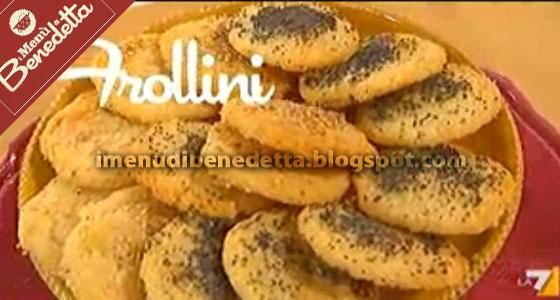 Frollini Di Parmigiano La Ricetta Di Benedetta Parodi