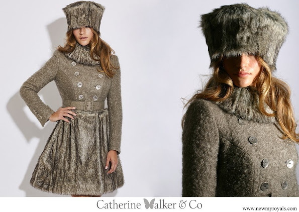 Kate Middleton wore Catherine Walker Larissa coat