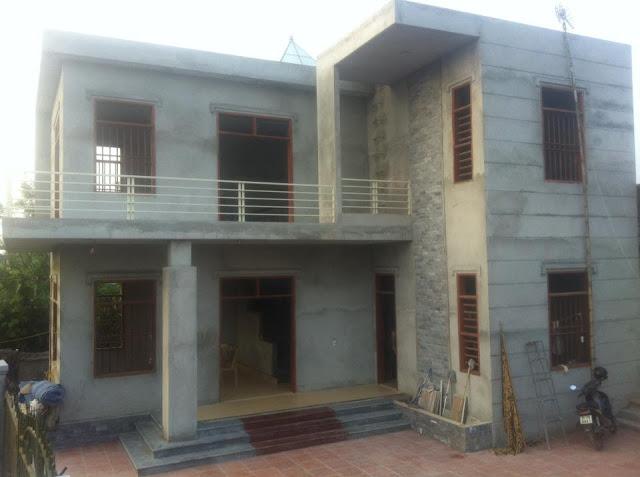 Nhà beton cốt thép 3d