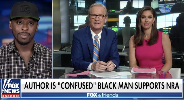 Black NRATV host goes high after lib writer is confused over black man's BMW, conservative beliefs