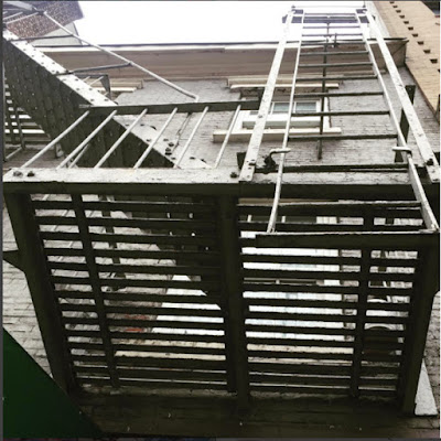 fire escape love story