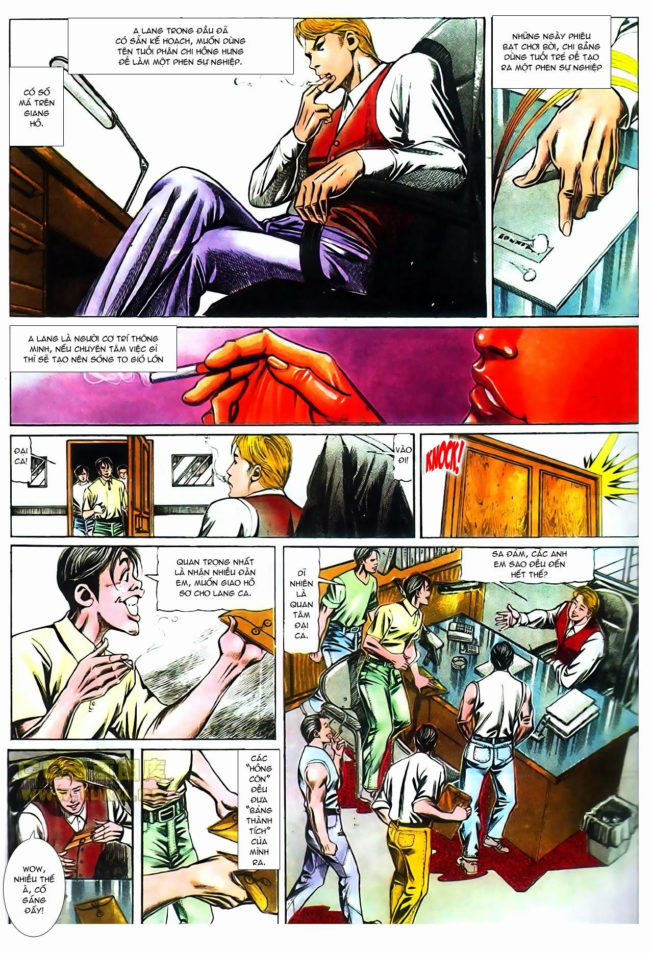 Người Trong Giang Hồ chapter 104: tuổi trẻ máu lửa trang 11