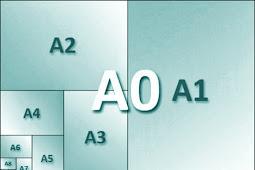 Ukuran Kertas seri A, A0, A3, A4 Dan Yang Lainnya Dalam mm, cm, inchi